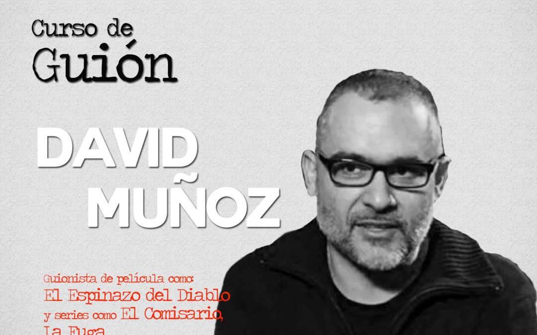 David Muñoz imparte un curso sobre escritura de largometrajes