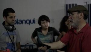 Escuela de Cine de Málaga Curso de Cine Cortometrajes Rodaje Mis amigos estan ciegos Carlos Bentabol10