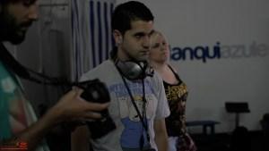Escuela de Cine de Málaga Curso de Cine Cortometrajes Rodaje Mis amigos estan ciegos Carlos Bentabol35