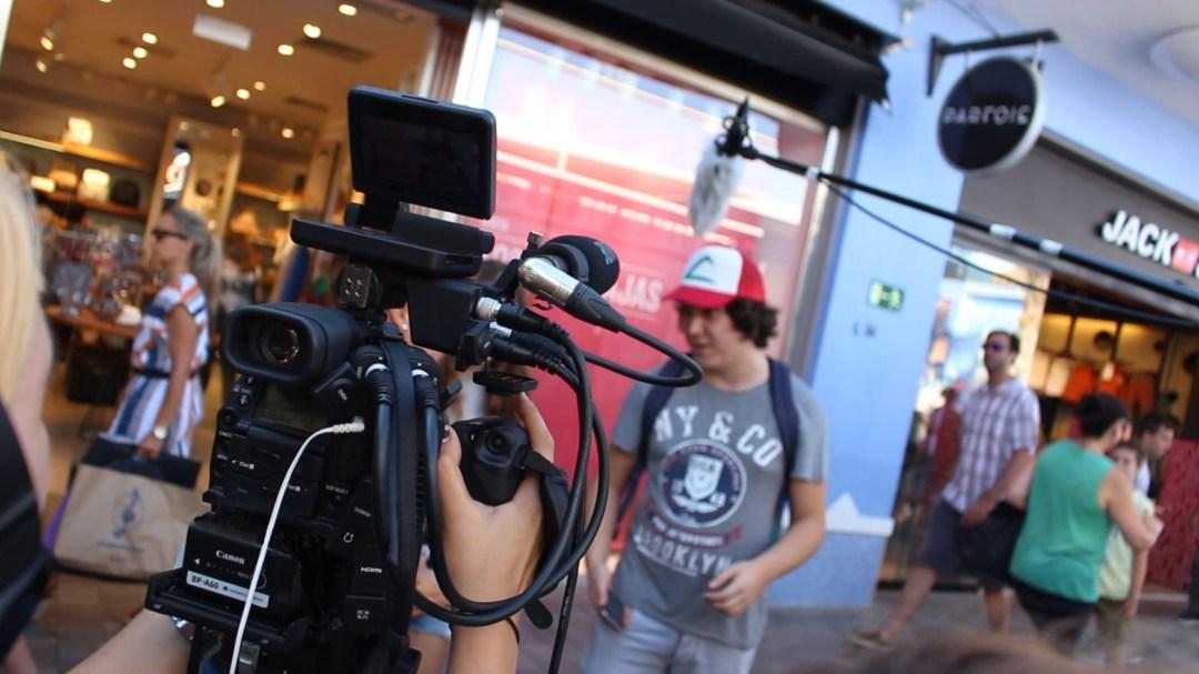 Escuela de Cine de Málaga - Curso de cine 4k - rodaje Te Elijo a Ti
