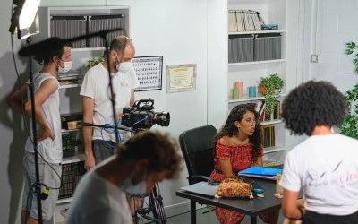 Rodaje del cortometraje «La carpeta» proyecto final del Máster de Dirección Cinematográfica