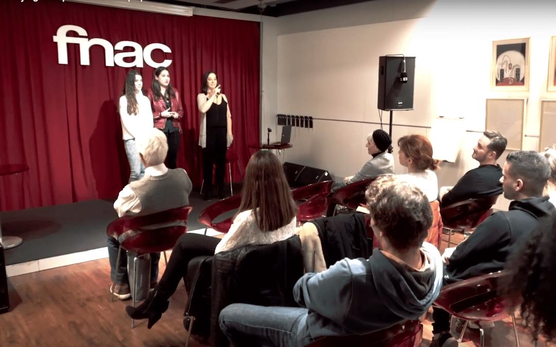 Presentación cortometrajes curso 4K en la Fnac Málaga