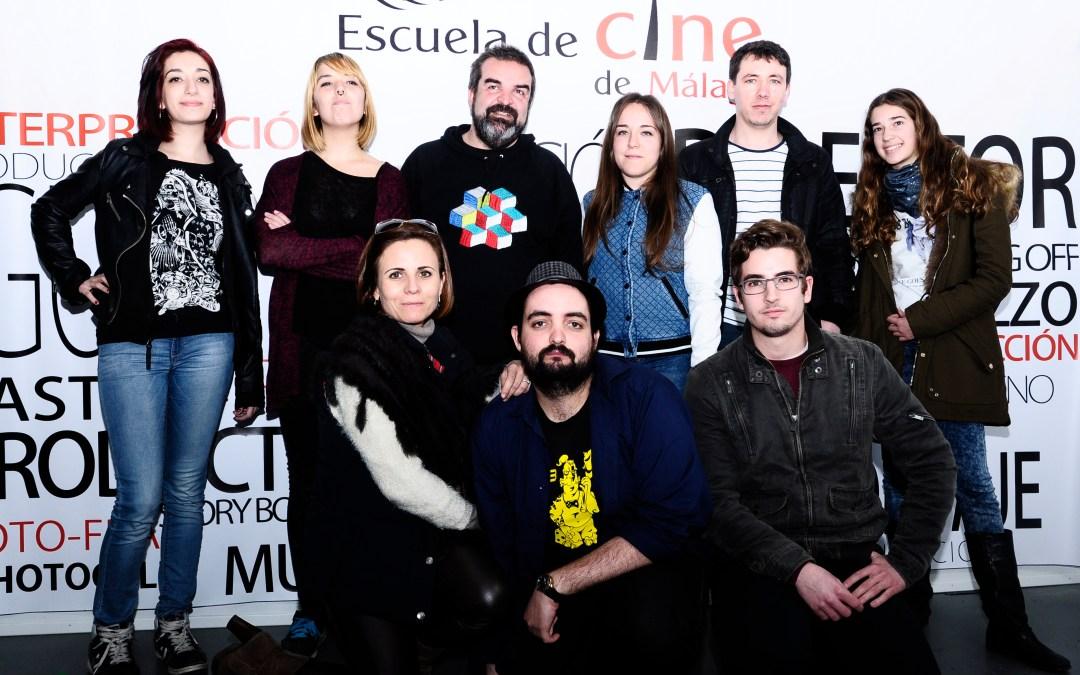 El Productor de Cine Gervasio Iglesias visita la Escuela de Cine de Málaga