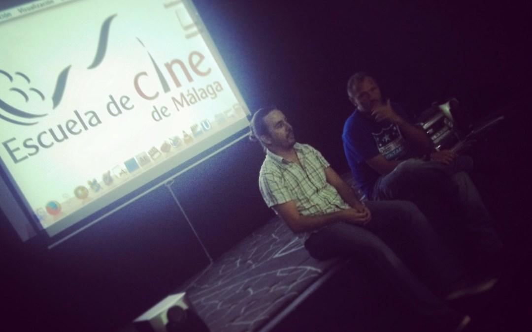 Encuentro con el actor Frederic Guillaume en la Escuela de Cine de Málaga