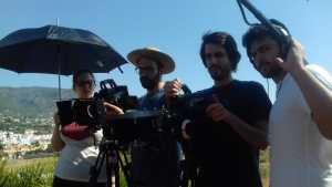 Makin off Rodaje Cortometraje La Montaña Maria Fortes Escuela Cine Malaga Actor Actriz Rodaje Cursos Casting 11