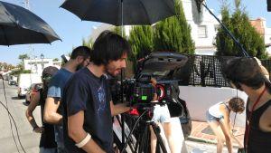 Makin off Rodaje Cortometraje La Montaña Maria Fortes Escuela Cine Malaga Actor Actriz Rodaje Cursos Casting 5