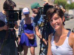 Makin off Rodaje Cortometraje La Montaña Maria Fortes Escuela Cine Malaga Actor Actriz Rodaje Cursos Casting 9