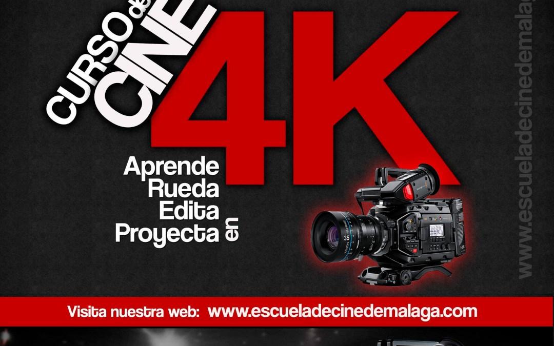 Exhibición de los cortometrajes del curso 4K 2019