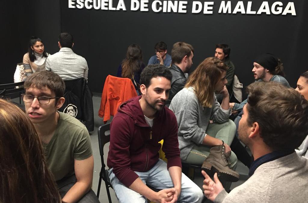 Los/las alumnos/as participan en el Speed Dating Cinema de La Escuela
