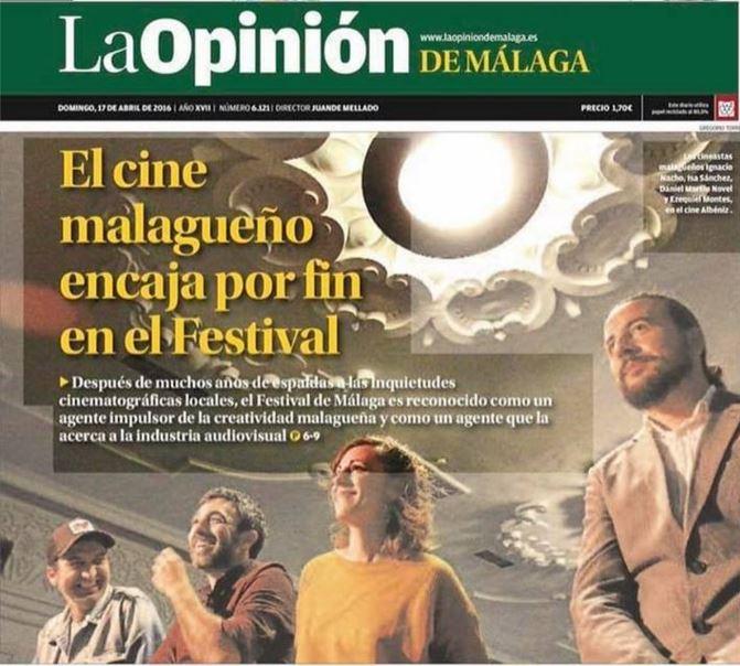 La Escuela de Cine de Málaga implicada en varios proyectos malagueños