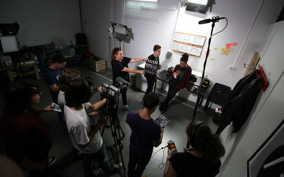 Rodaje de Spoiler del alumno de cine Alberto García