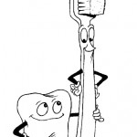 Cepillarse los dientes: Actividades para colorear y enseñar
