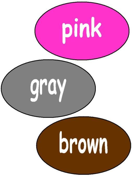 18colores en ingles