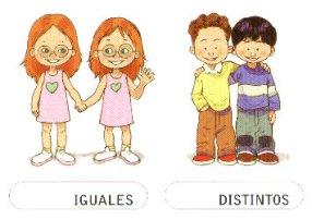 IGUALES-DISTINTOS