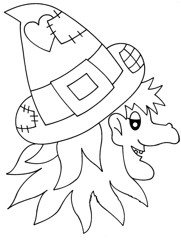 Llega Halloween Dibujos Para Colorear En Halloween