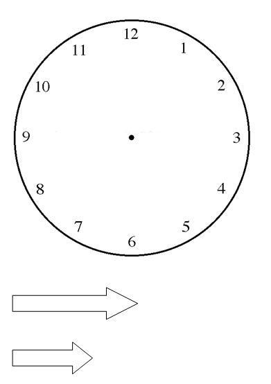 M todos para aprender las horas del reloj - Dibujos de relojes para imprimir ...