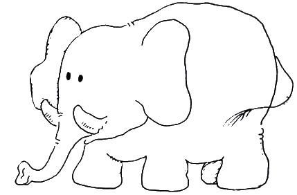 Dibujos Infantiles De Animales De La Selva Para Colorear