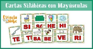 sílabas, cartas silábicas