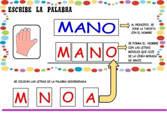 juego de las palabras con imagenes