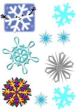 Copos de nieve-3