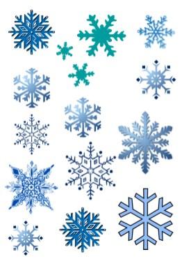 Copos de nieve-4