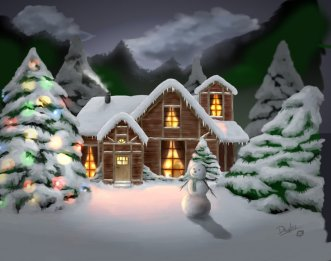 Christmas_Night_by_dougurasu