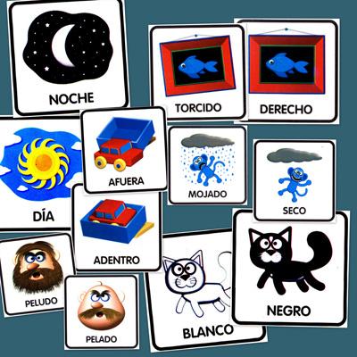 conceptos opuestos, atencion, percepcion, recursos didacticos, recursos maestros, recursos para el aula, lenguaje