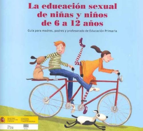 educacion sexual primaria, niños 6 a 12 años