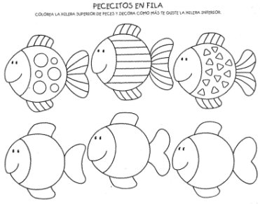 Material para trabajar la atención para imprimir gratis para niños. Trabajar la atención