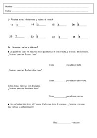 Fichas de Lengua y Matematicas para imprimir y repasar 3º Primaria