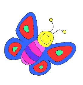 Mariposas para colorear y decorar en primavera
