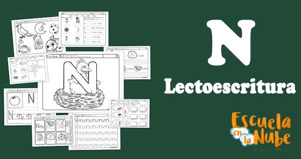 Lectoescritura con la N
