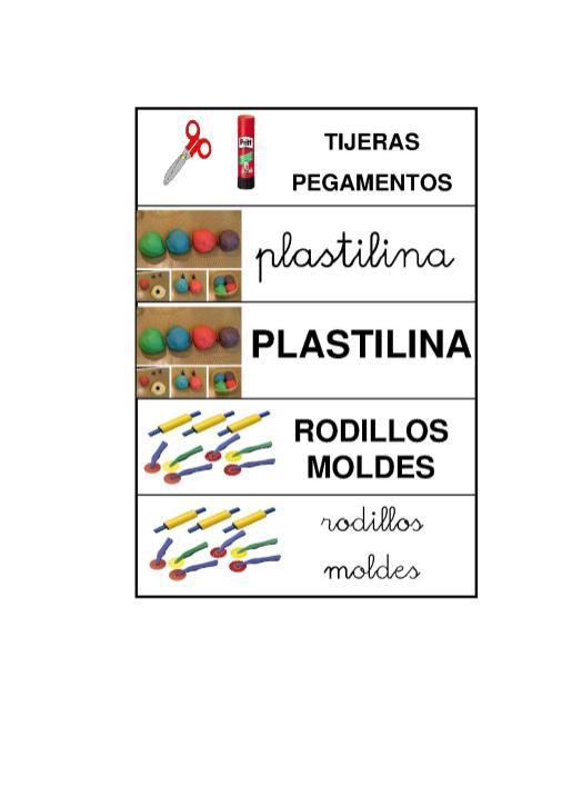 carteles material aula gema4