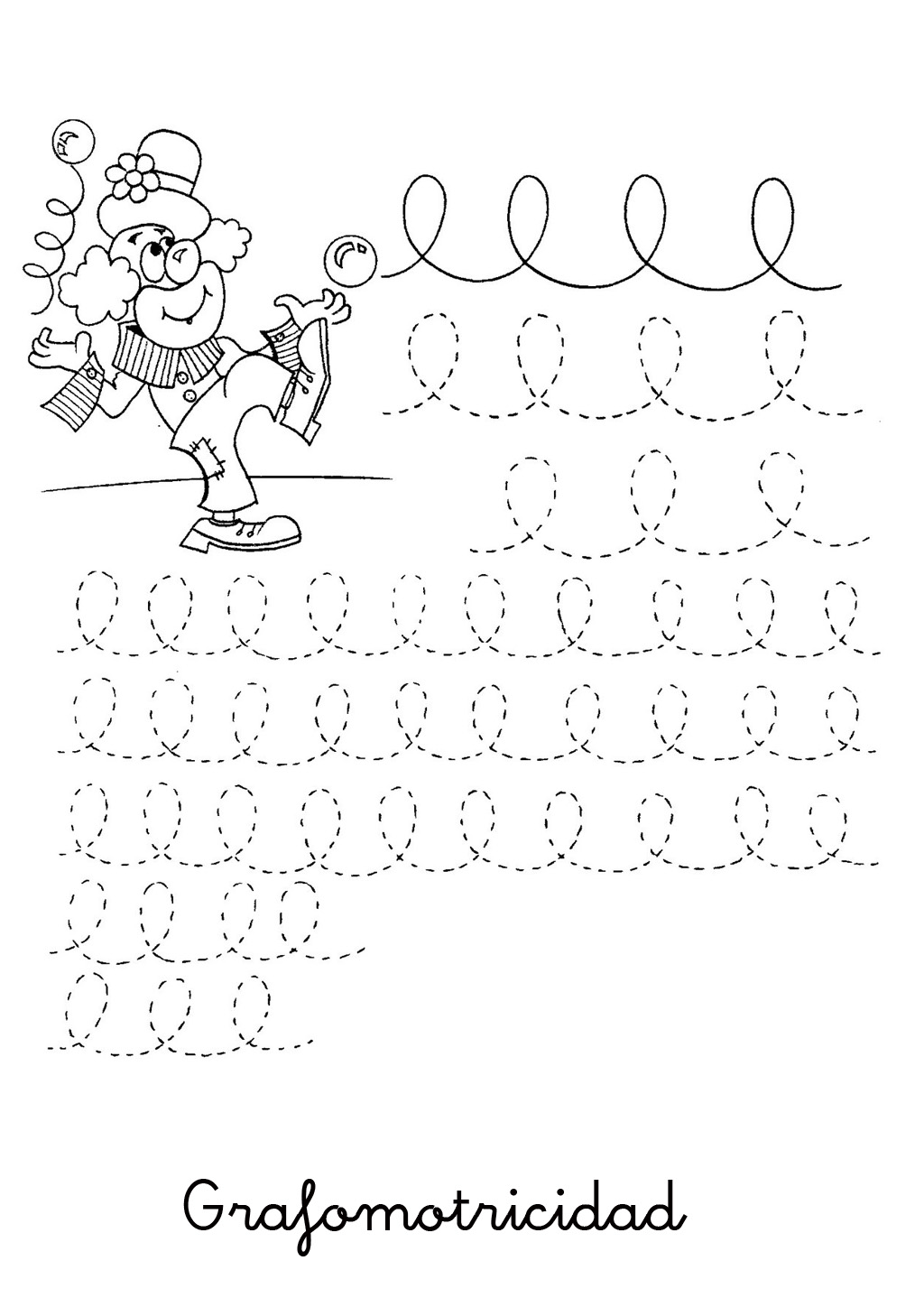 Curved And Zig Zag Line Tracing Worksheet