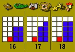 Números 16-17-18