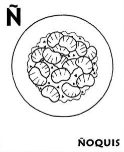 fichas abecedario colorear 17