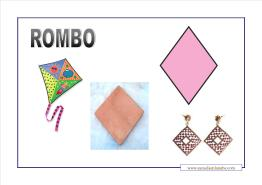 figuras geométricas rombo
