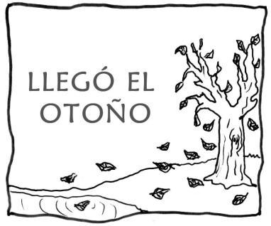 dibujos colorear otoño 01