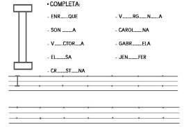 letra I vocales 15