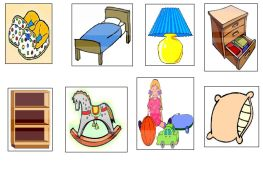 objetos del dormitorio
