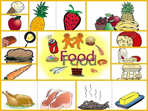 Vocabulario b sico en ingles frutas y otros alimentos - Alimentos en ingles vocabulario ...