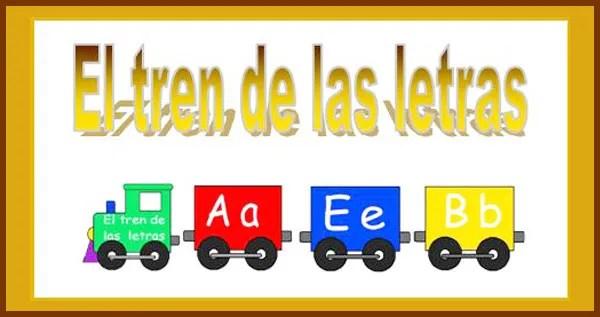 el tren del abecedario, alfabeto, letras, infantil
