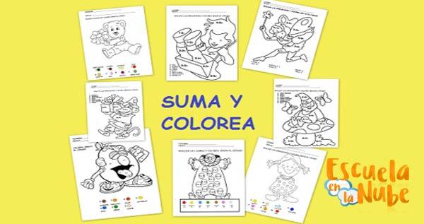 Dibujos Para Colorear Con Multiplicaciones Imagui Matematicas