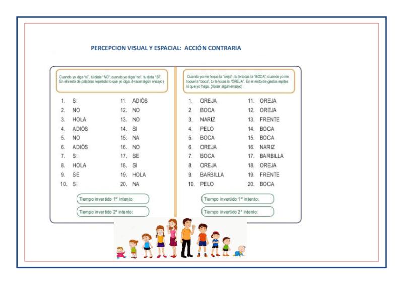 inmadurez cortical, estimulación cognitiva, estimulación temprana, fichas infantil