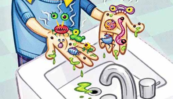 juego infantil, actividades de higiene personal para niños de primaria