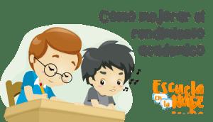Mejorar el rendimiento escolar de los niños
