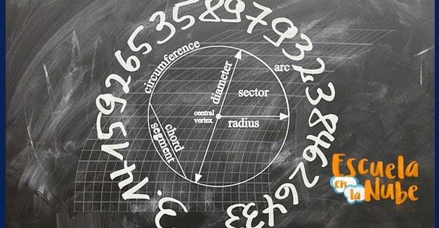 diámetro de un círculo