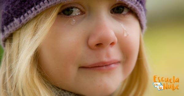 el niño triste
