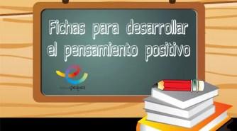 Fichas para desarrollar el pensamiento positivo