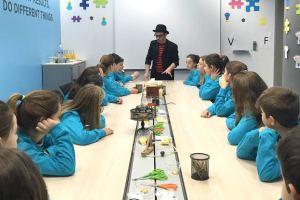 escuela de magia para niños